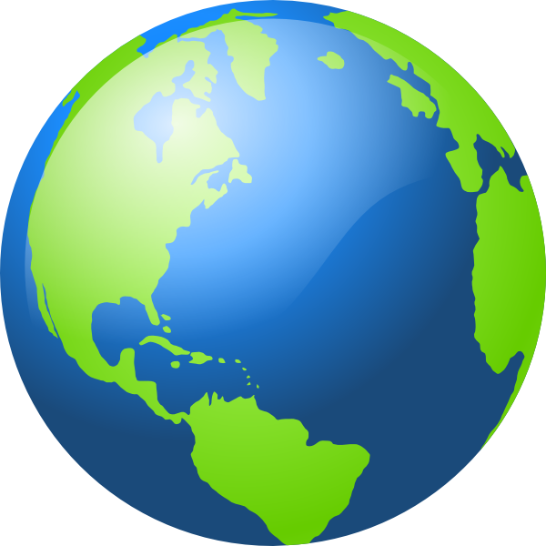 Cartoon earth png. Globe clipart at getdrawings