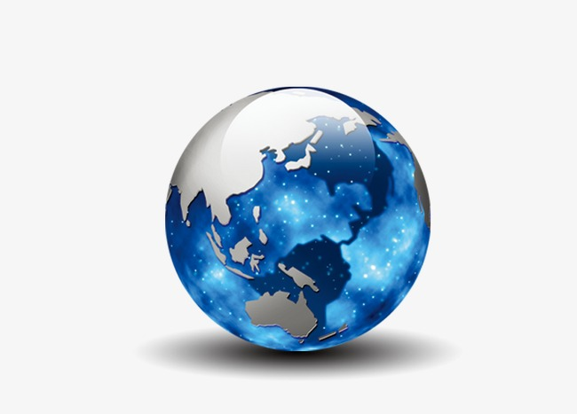 World clipart earth round. Blue png image and