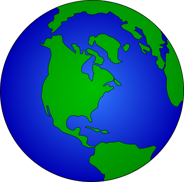 World clipart earth round. Planet at getdrawings com