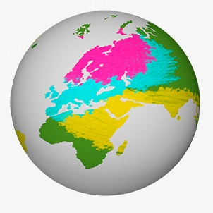 World clipart earth round. Color png image and