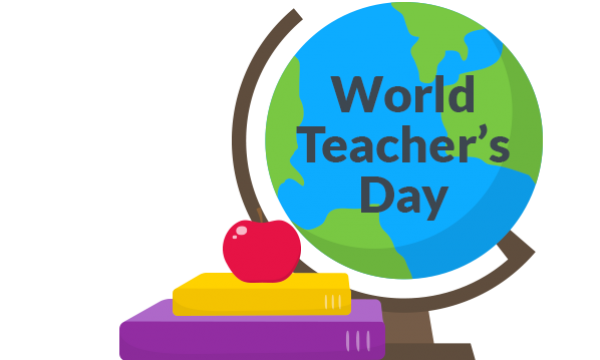 Transparent teacher teacher's day. Most beautiful world