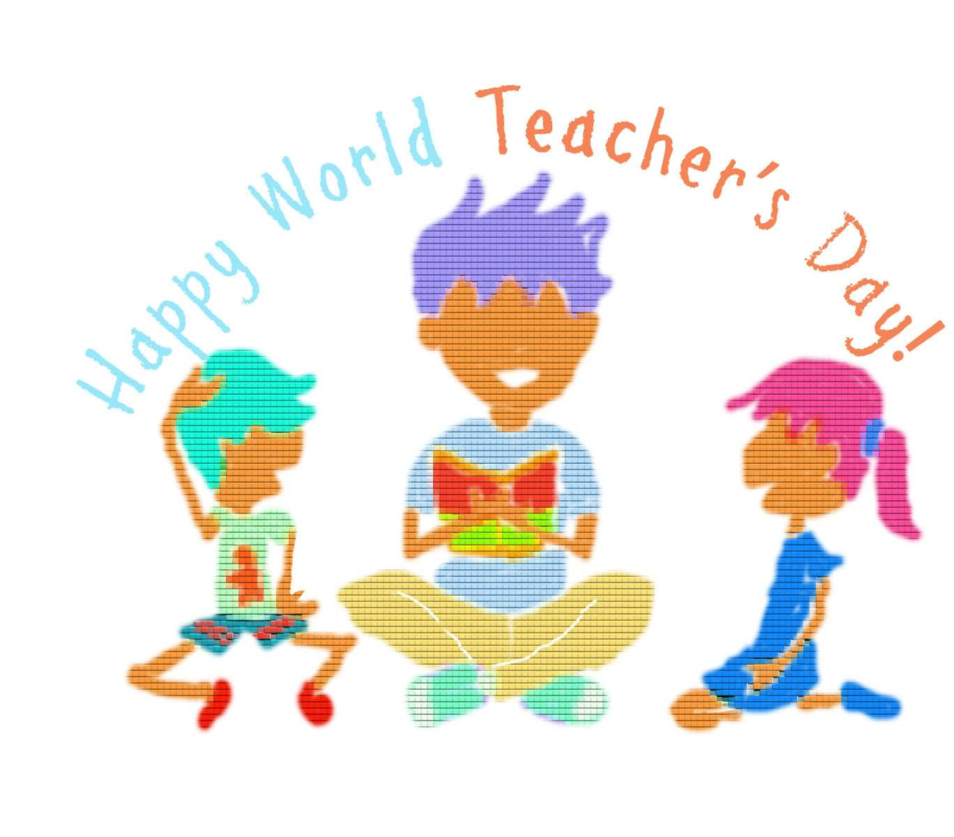 World clipart happy world. Teachers day wishes