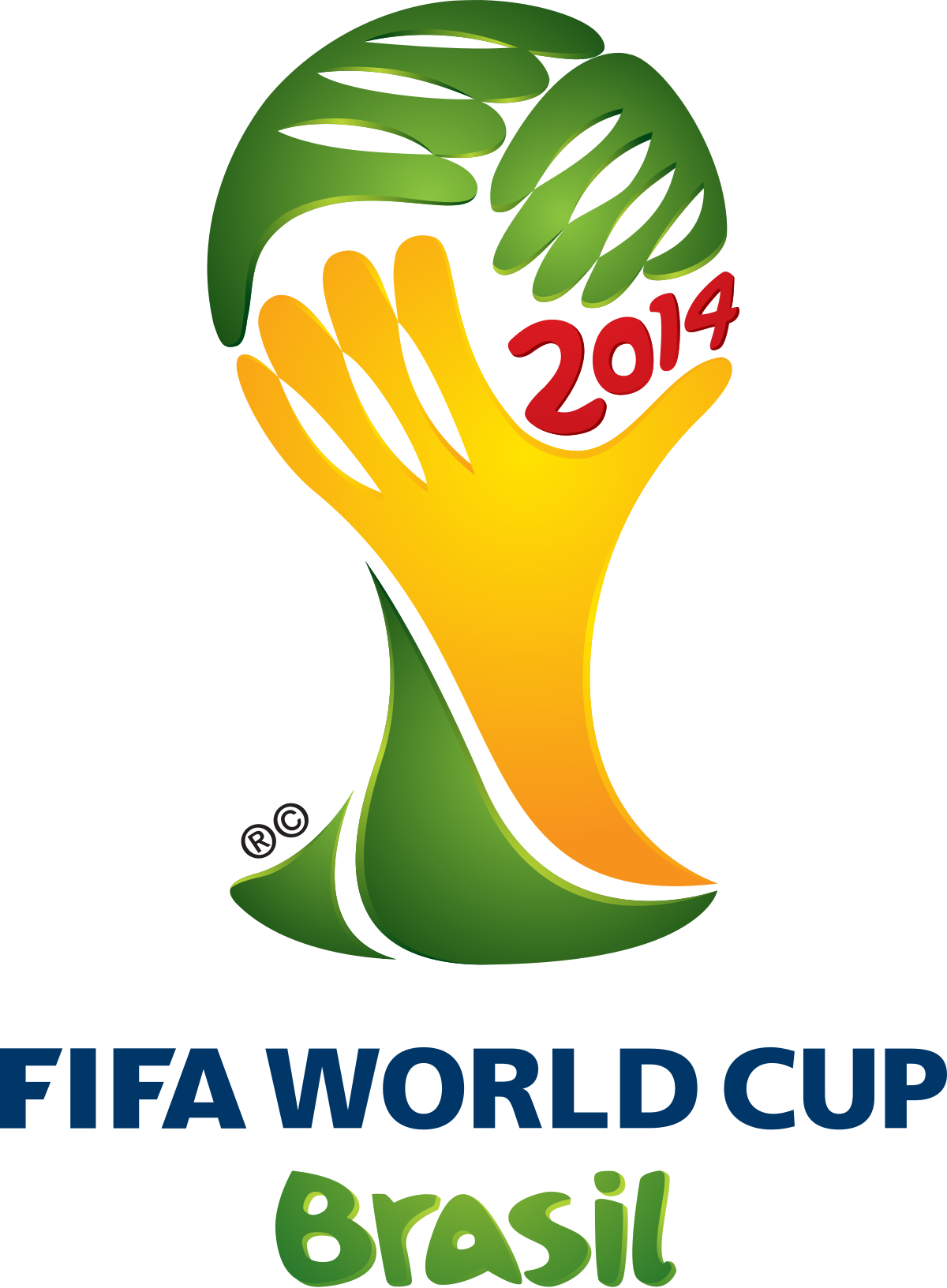 brazil drawing world cup trophy 2014