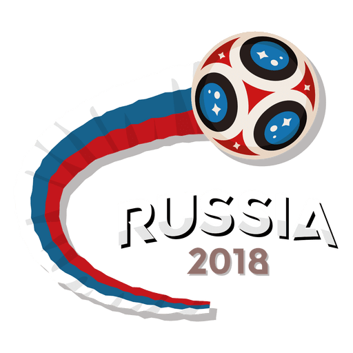 Russia vector svg. World cup logo transparent