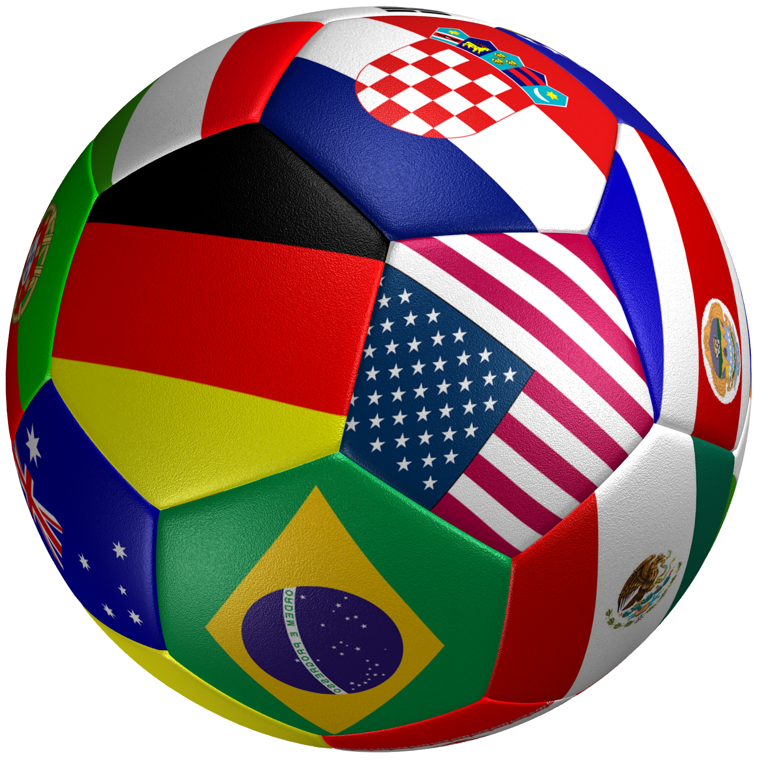 World cup soccer ball png. Flag d model cgtrader