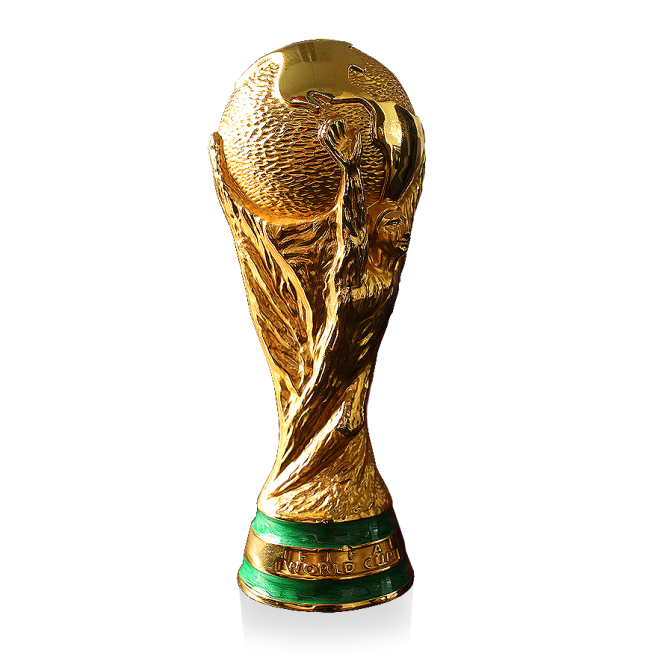 World cup trophy png. Official fifa mini replica