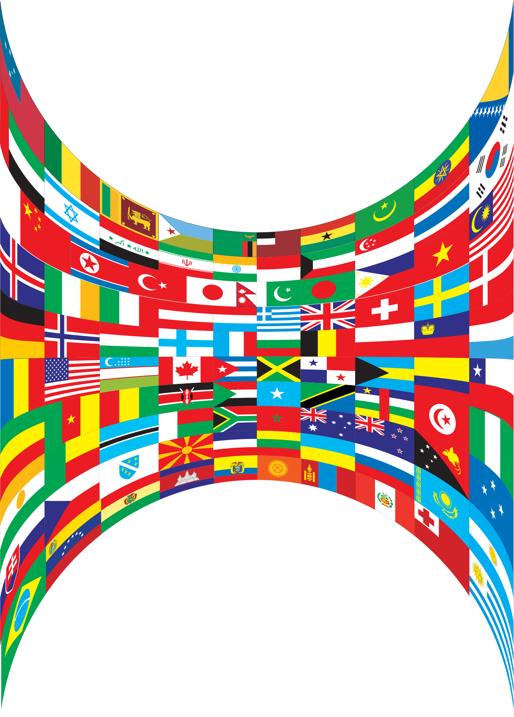 World flags png. Perspective icons free and