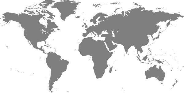 Map of world png. Fashion pure outline worldmapvectorpng