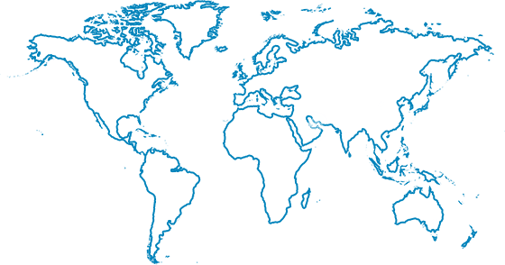 World map png. Free download vector clipart