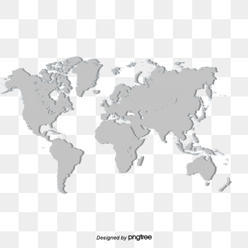World map png image. Images vectors and psd
