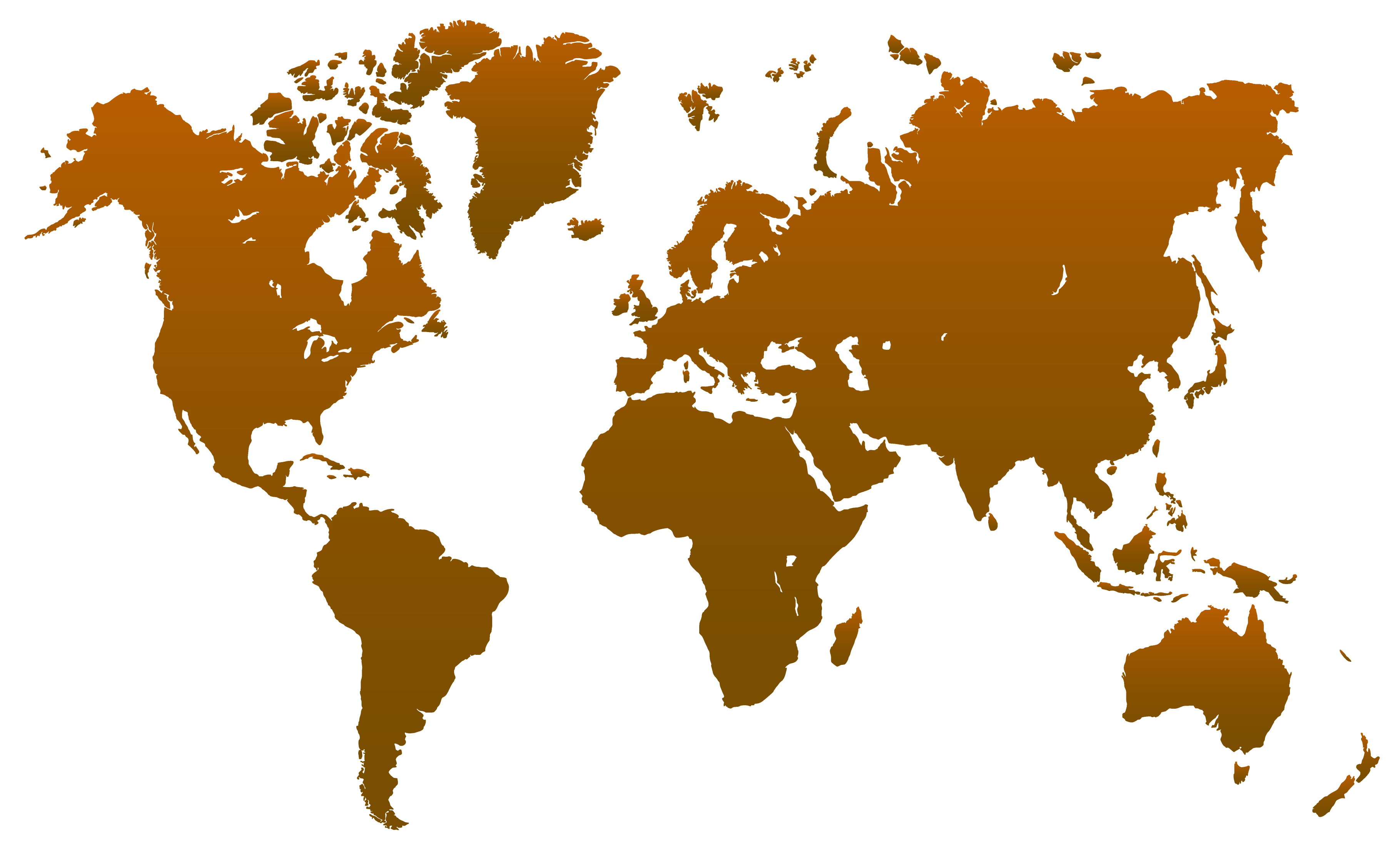 world map transparent png