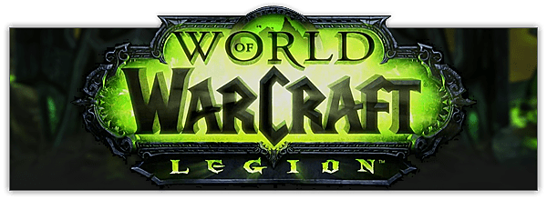 Wow! png banner. The legion pre patch