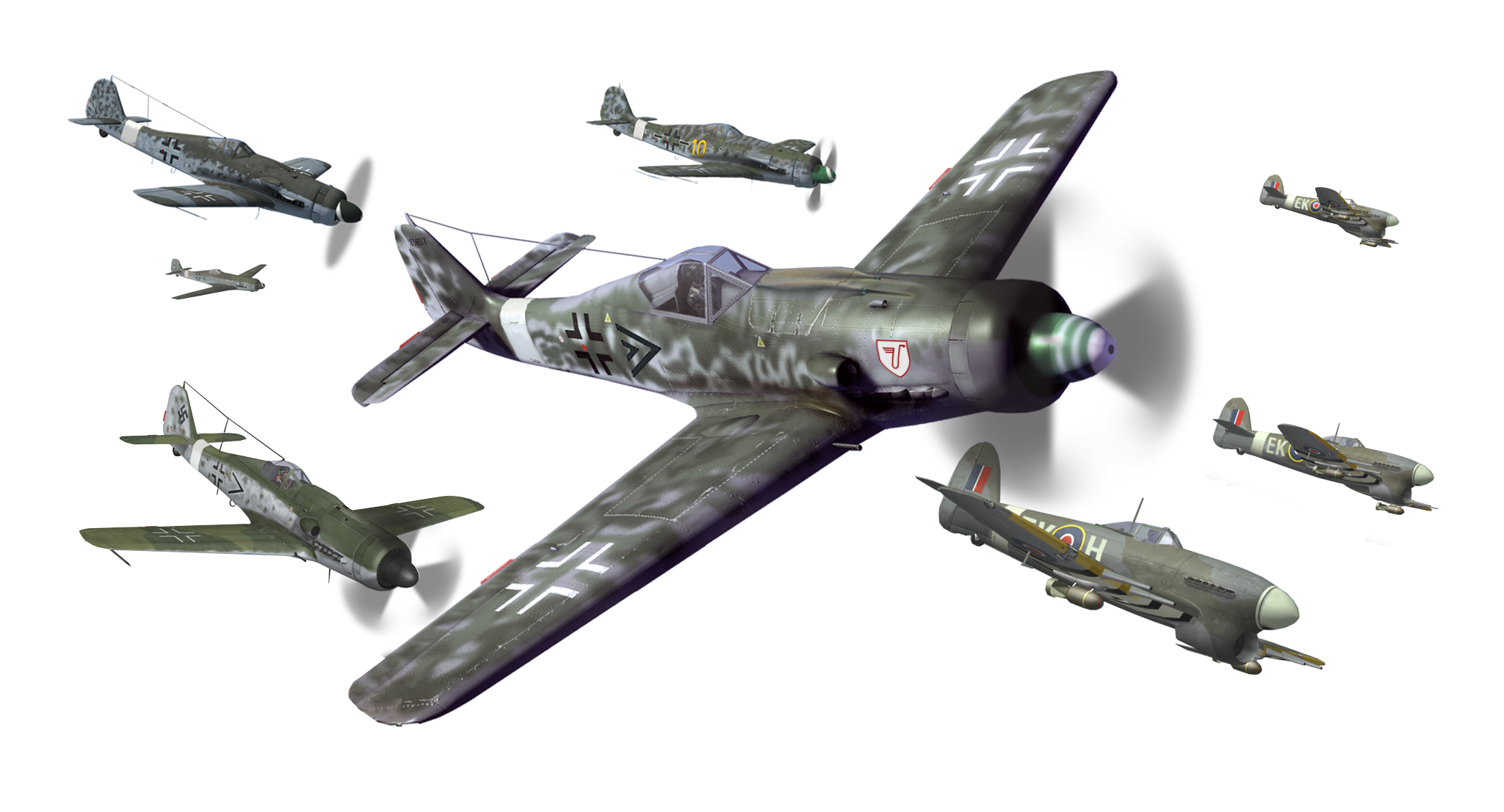 World war 2 plane png. Aircraft of wwii airplane