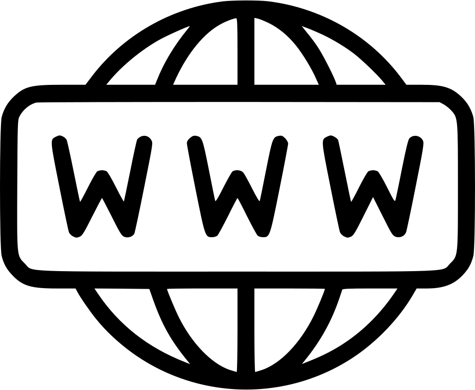 World wide web png. Svg icon free download