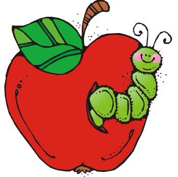 With teacher pinterest clip. Worm clipart apple graphic freeuse library