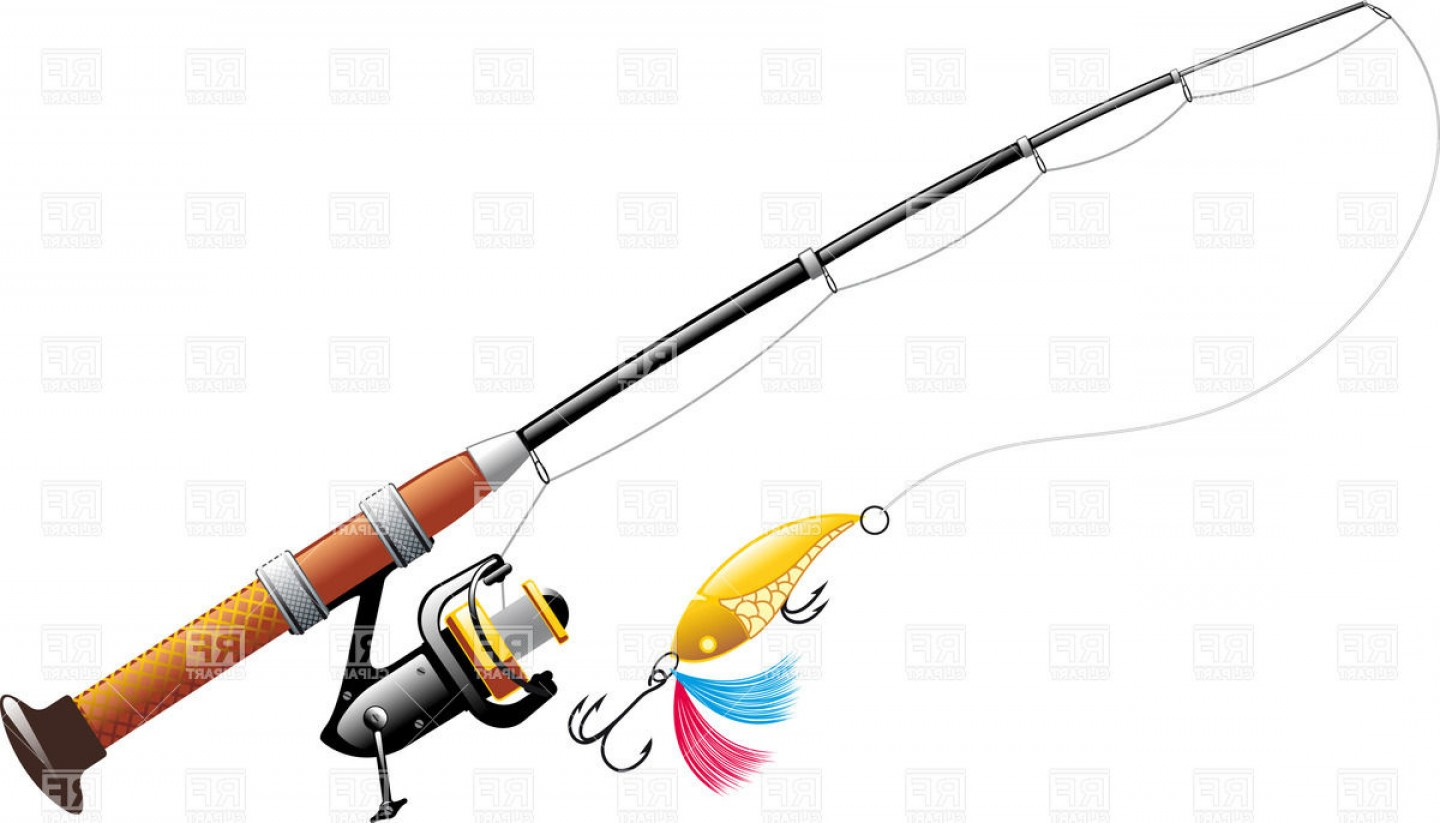 Worm clipart bait bucket. Spinning with spoon fishing picture freeuse stock