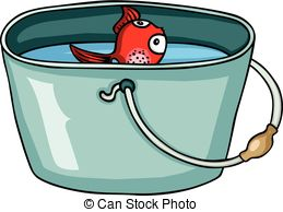 Red fish and a. Worm clipart bait bucket banner royalty free library