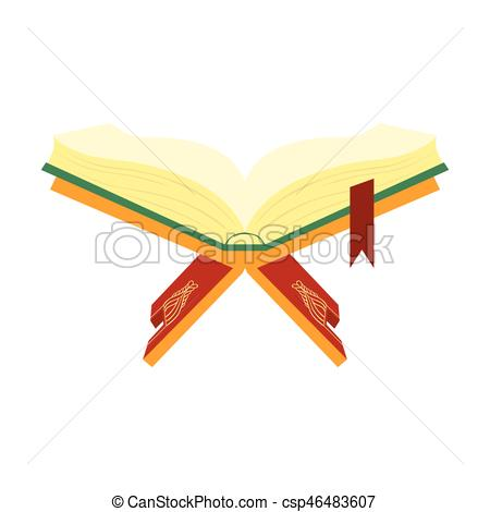 Worm clipart holy. Quran book of muslims picture free library