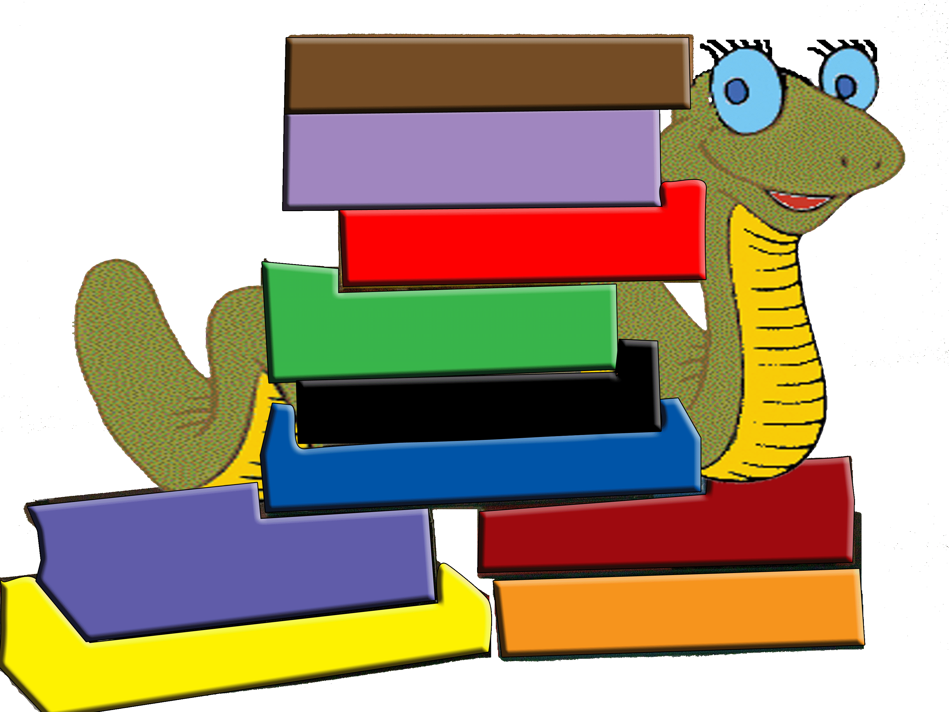 Worm clipart two. Free book download clip