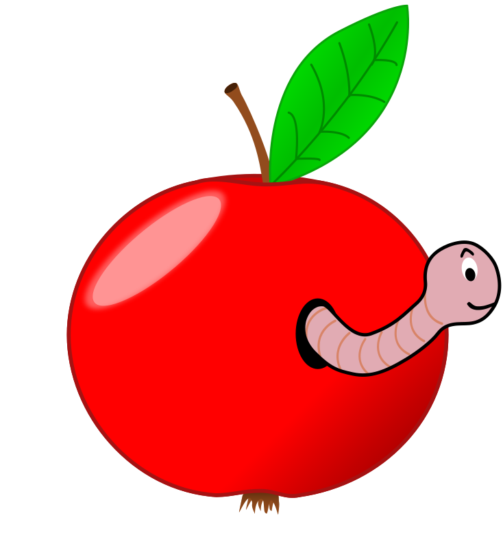 Worm clipart two. Free worms collection black