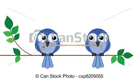 Birds lunch fighting over. Worm clipart two png transparent download