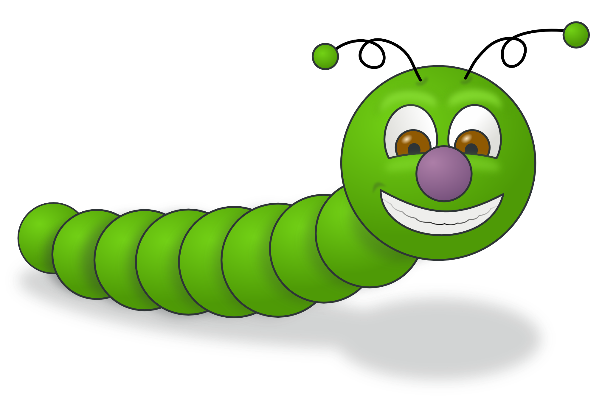 Worms clipart svg. Insect worm panda free