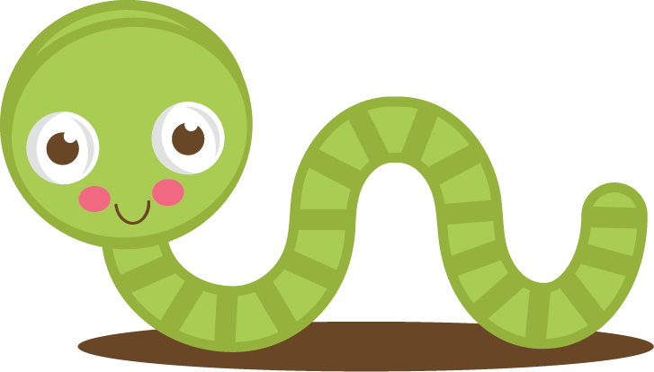 Cute green svg cut. Worm clipart silhouette vector library library