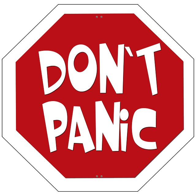 worry clipart dont panic