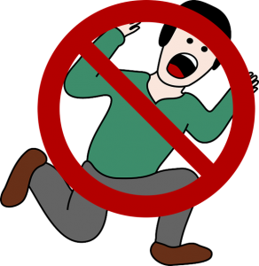 Worry clipart dont panic. Don t if you