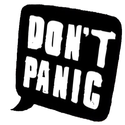 Worry clipart dont panic. Don t support campaign