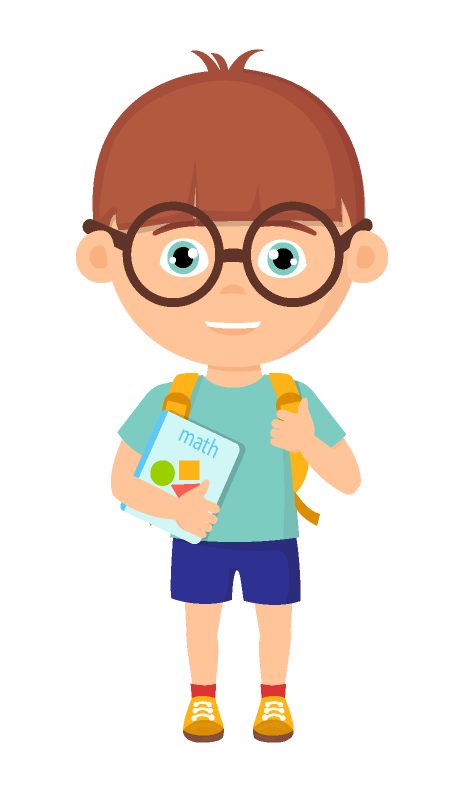 Student cartoon png. School accommodations misophonia kids