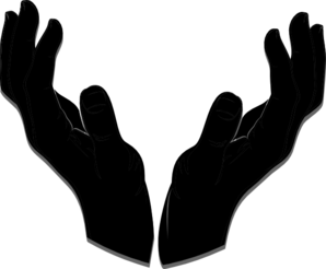 Worship hands png. Clipart