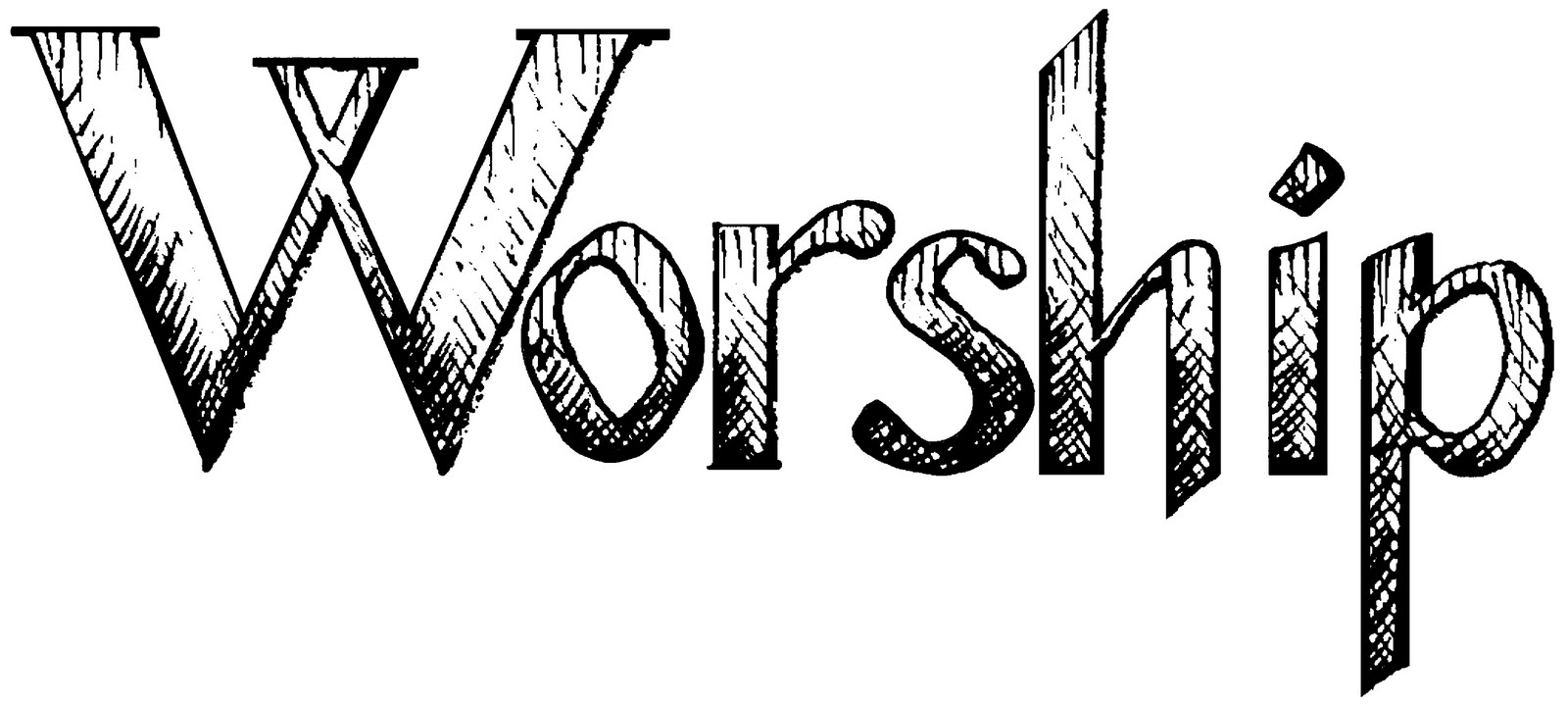 Worship clipart black and white. Awesome collection digital coloring