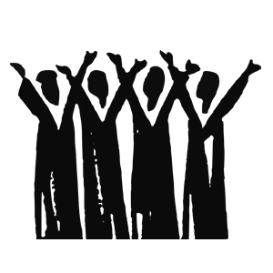 Worship clipart black and white. Spectacular idea praise people