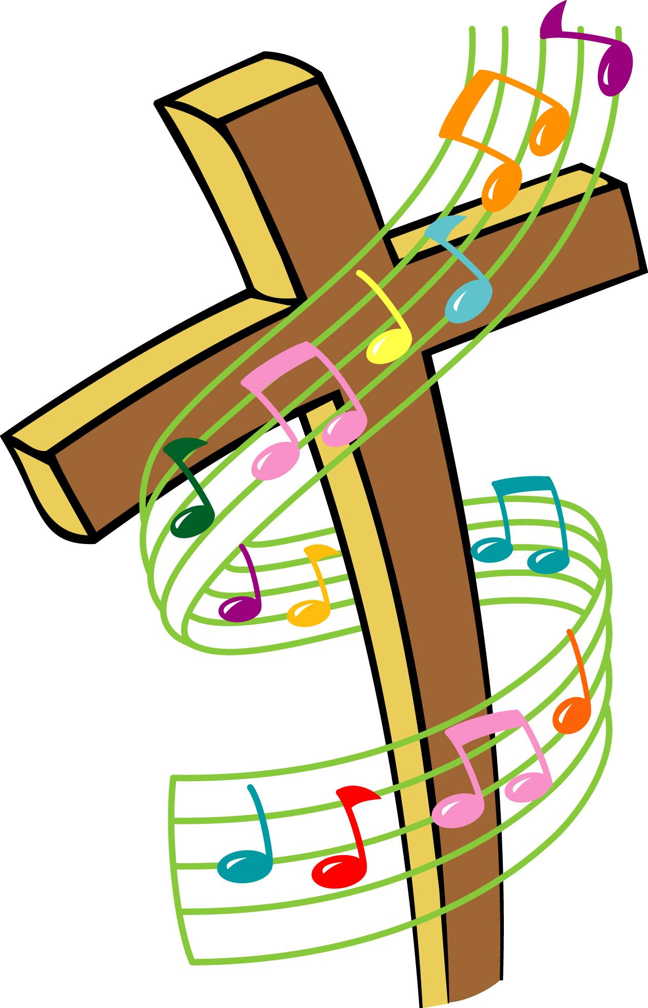 Worship clipart show choir. Music clip art stay