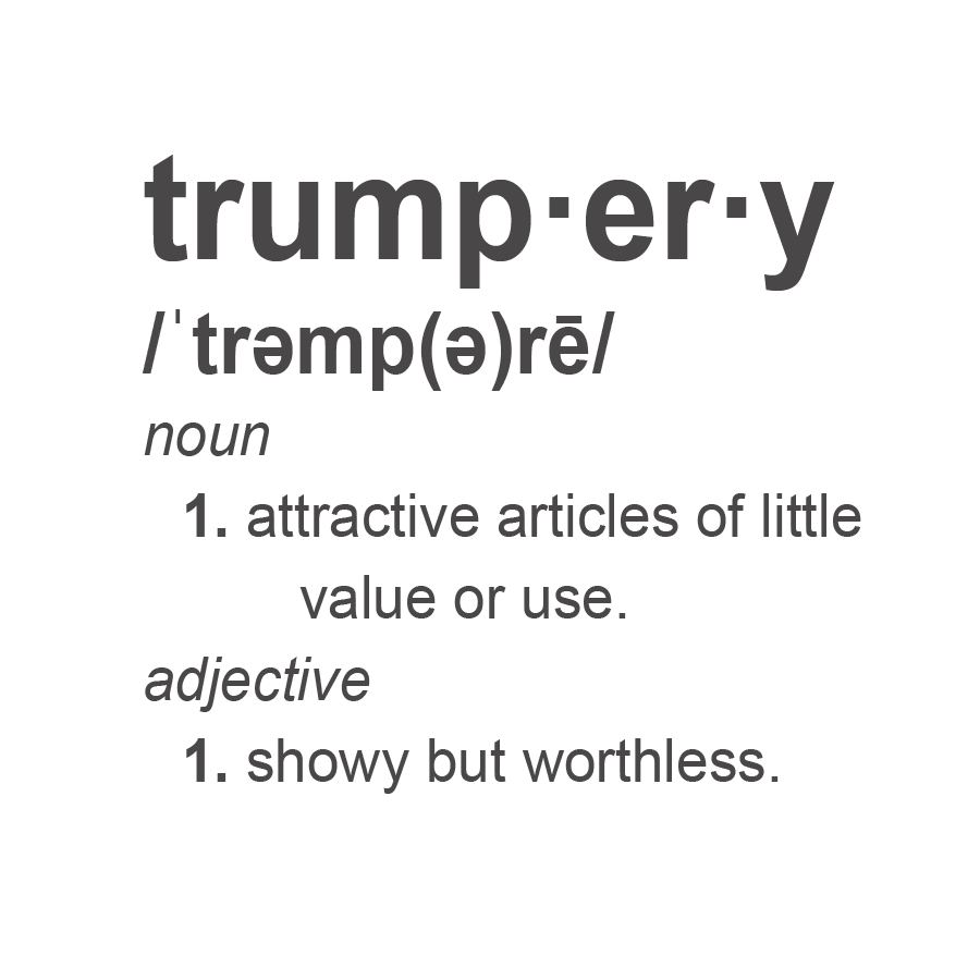 Worthless definition png. What is trumpery as