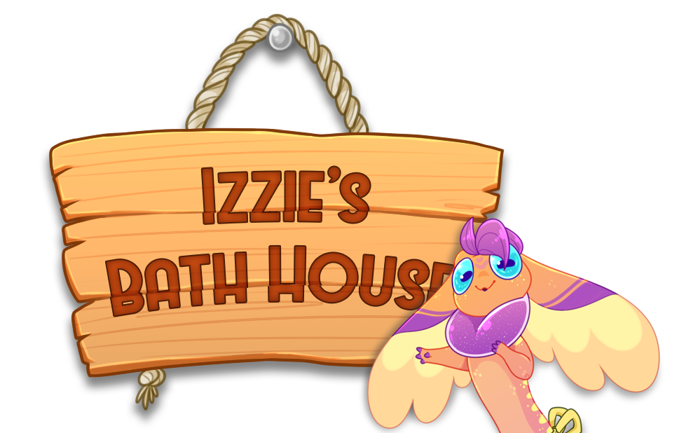 Izzie s bath house. Wow clipart outburst svg download