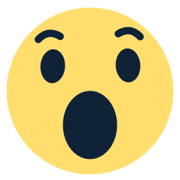 Wow clipart surprised expression. Free icon download in