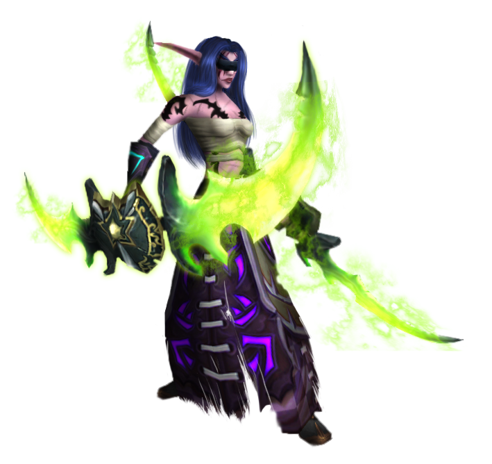 Wow demon hunter png. Selendis by shayochism on