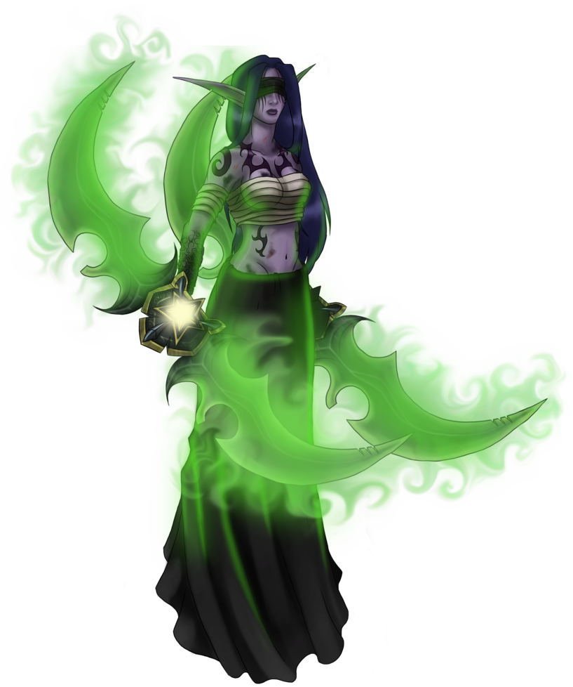 Wow demon hunter png. By art magpie on