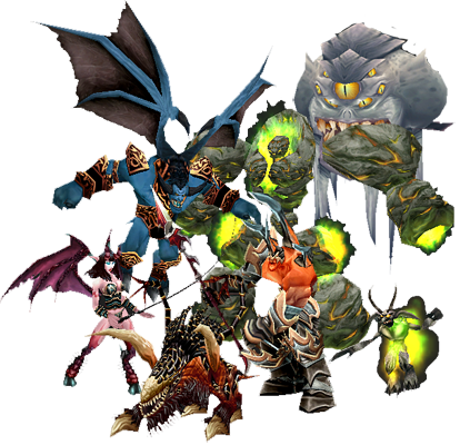 Wow! png warcraft heroes. Demon wowpedia your wiki