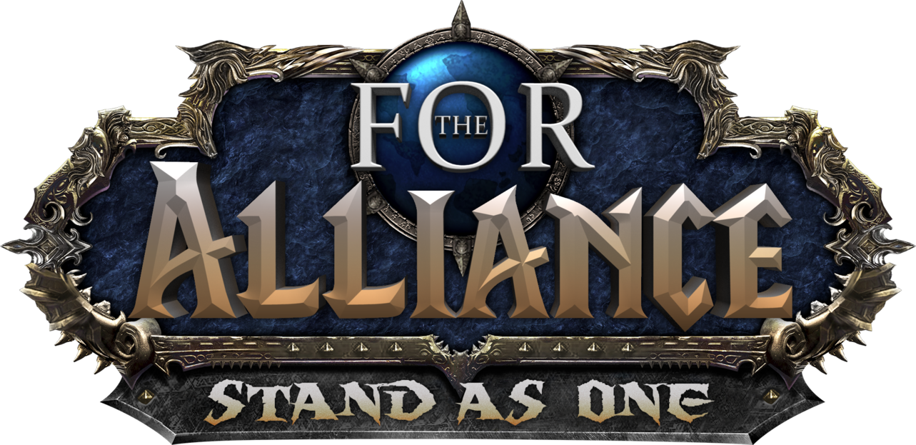 Alliance wow png. Bfa editable logo by