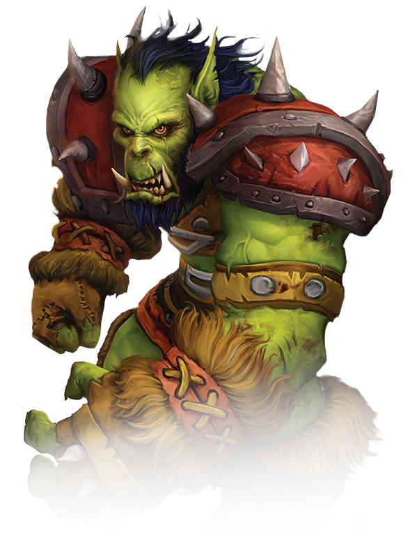 Drawing orcs warcraft. Fel orc allied race