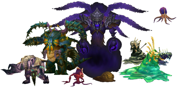 Wow! png beholder. Aberration wowpedia your wiki