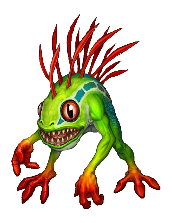 Wow! png murloc. Bright adorable inspiration creatures