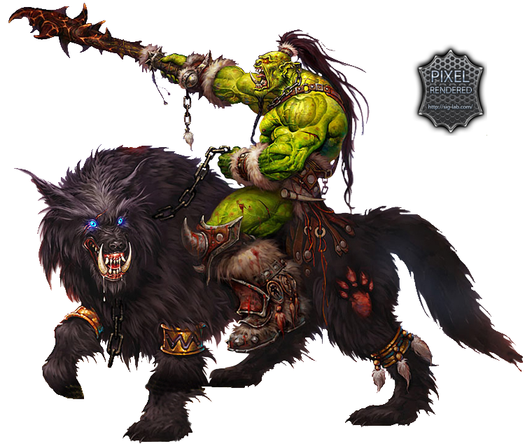 Wow! png wow character. Render by gfxpixel on