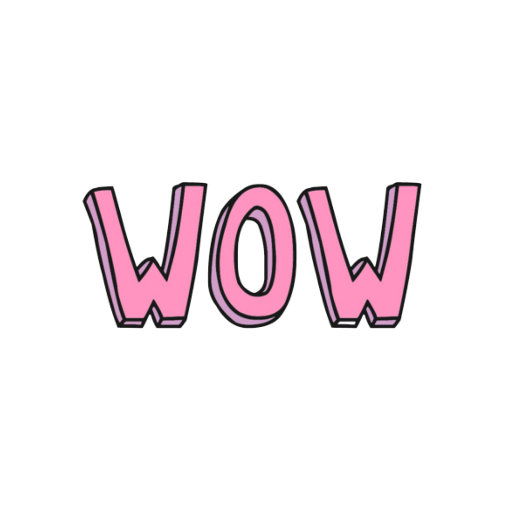 Wow png. Omg edit sticker by