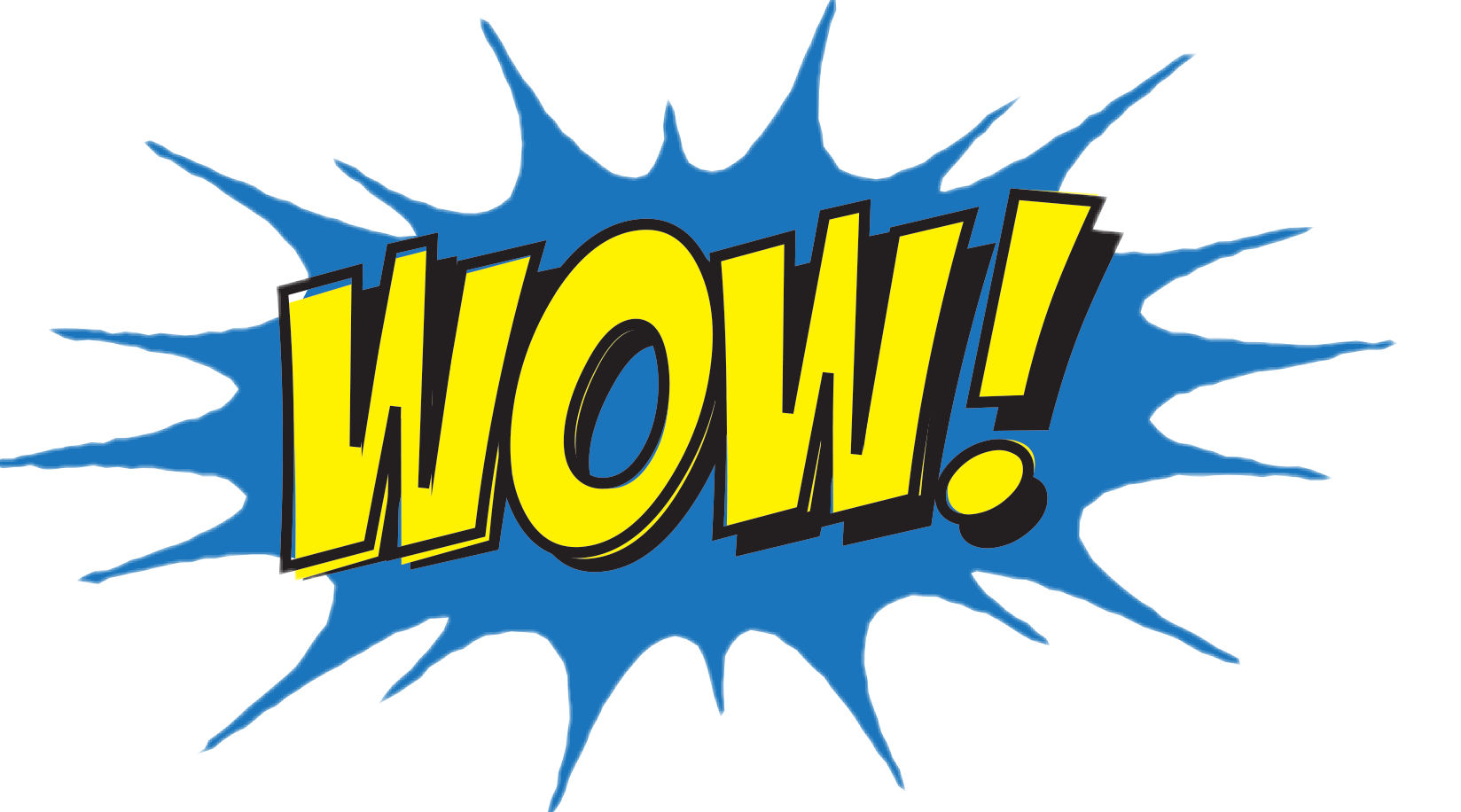 Wow sticker png. Bomba comic by luc