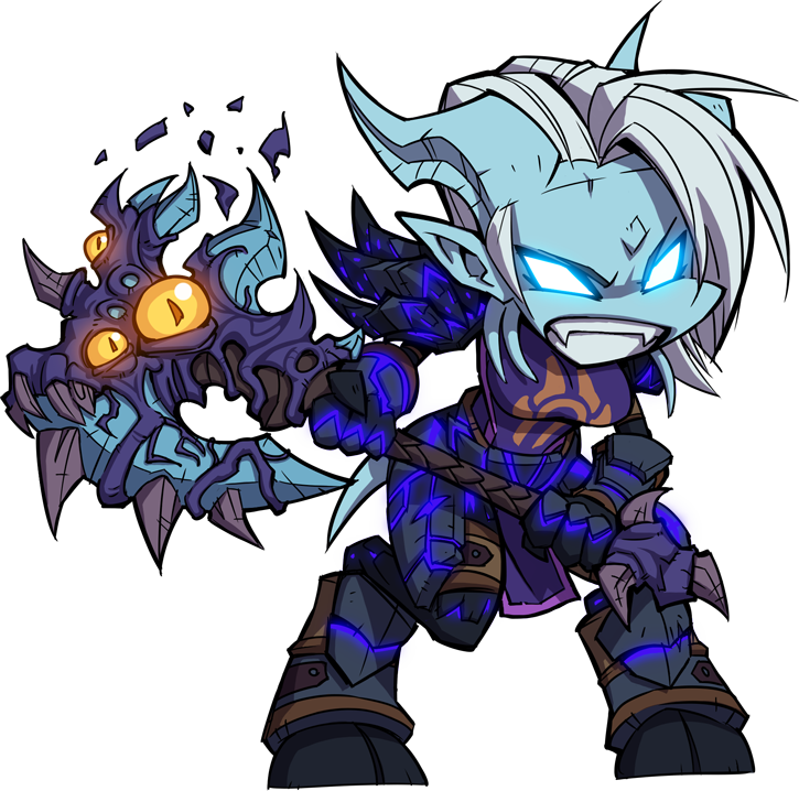 Wow warrior png. Chibi by zeon in
