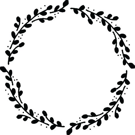 Wreath clipart classy. Pencil and in color